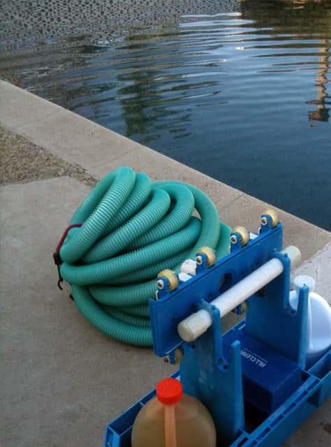 limpieza y vaciado de piscina valencia