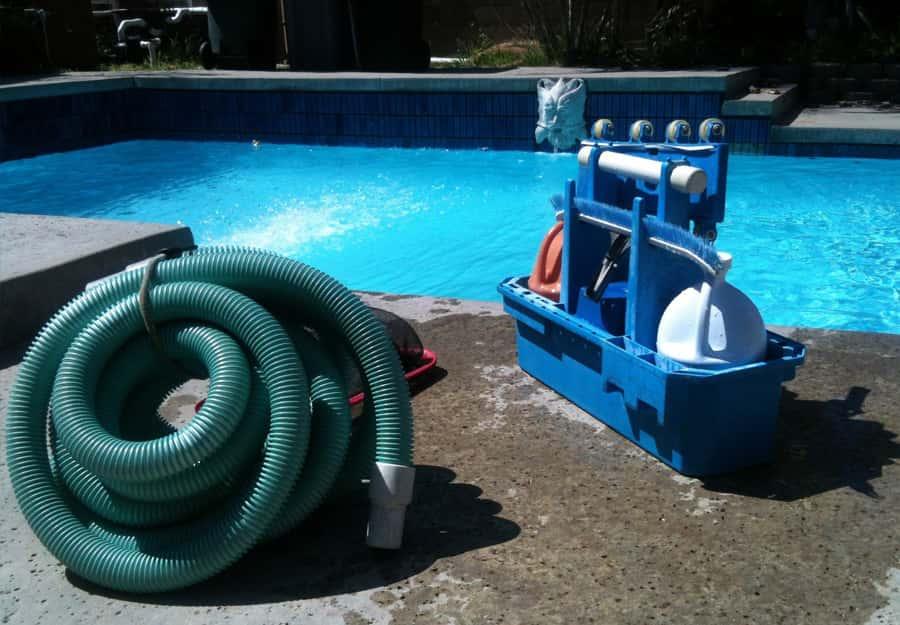 vaciado de limpieza y piscina